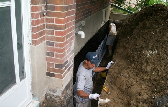 Waterproofing Company in Burlington